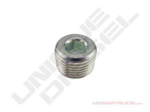 Fitting - Plug Steel 1/2 NPTM Water Pump Auxiliary Port